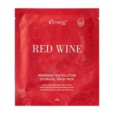 Гидрогел. маска д/лица RED WINE REGENERATING SOLUTION HYDROGEL MASK PACK